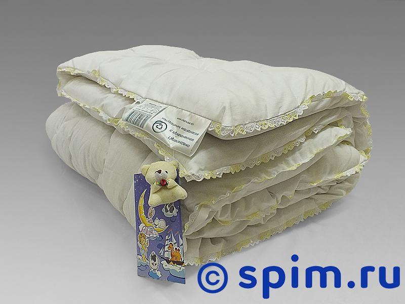 Одеяло Natures Бамбуковый медвежонок с кружевом 110х140 см