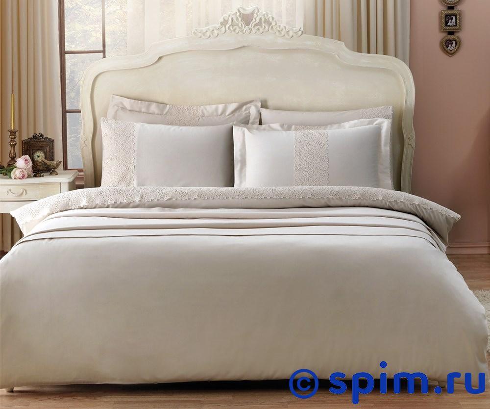 Постельное белье Tivolyo Forza, коричневый 1.5 спальное