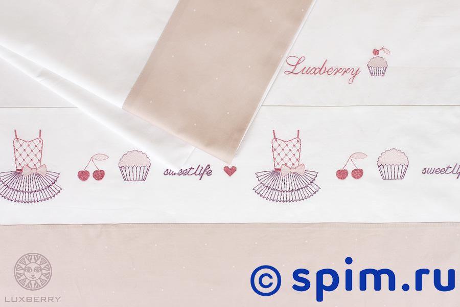 Детский комплект Luxberry Sweet Life, простыня без резинки от spim.ru