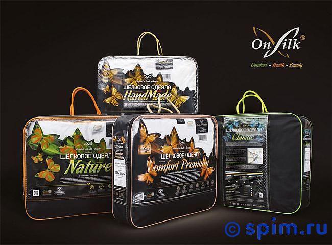 Шeлковое одеяло Onsilk Comfort Premium облегченное 200х220 см